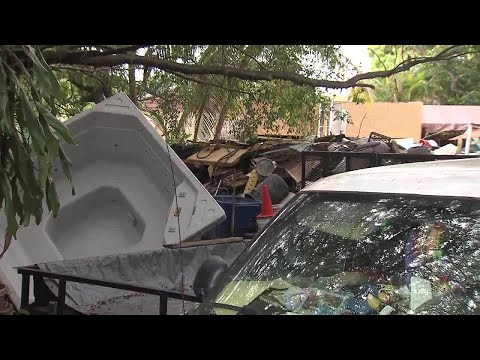 Little Havana homeowner accused of hoarding garbage outside home