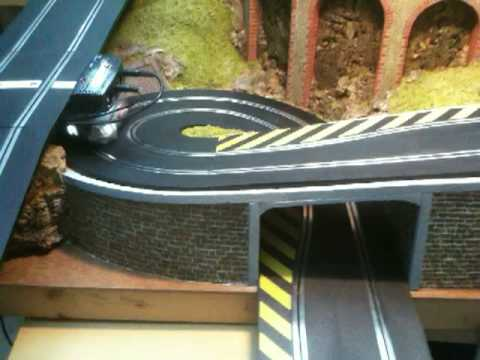 Scalextric Slot Car Track Test Youtube