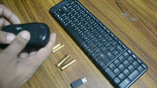 logitech bluetooth keyboard mouse combo after unboxing
