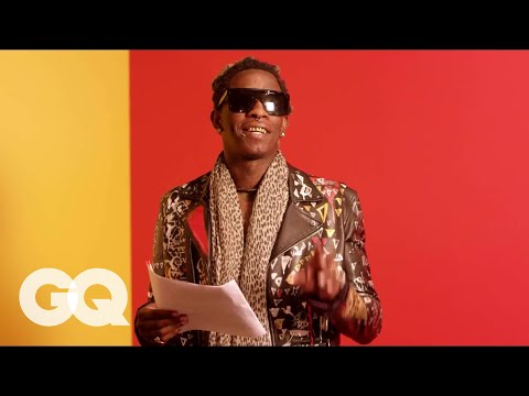 """Young Thug Reads the Lyrics to Song ""Best Friend"" So You Can Actually Understand Them. Kind Of"""