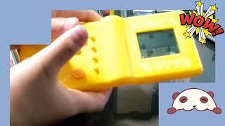 휴대용 게임기와 무전기