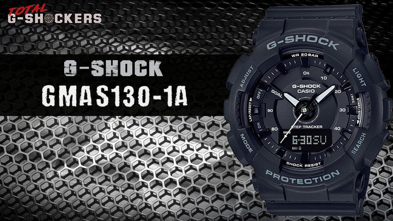 4f891a68aec17 Casio G-Shock GMAS130-1A Step Tracker
