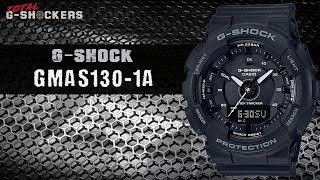 Casio G-Shock GMAS130-1A Step Tracker | Top 10 Things Watch Review