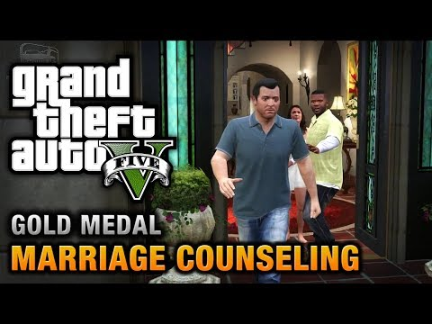 GTA 5 - Mission #6 - Marriage Counseling [100% Gold Medal Walkthrough]
