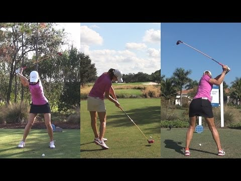 MICHELLE WIE – ULTIMATE GOLF SWING COMPILATION LATE 2013 – REG & SLOW MOTION 1080p HD