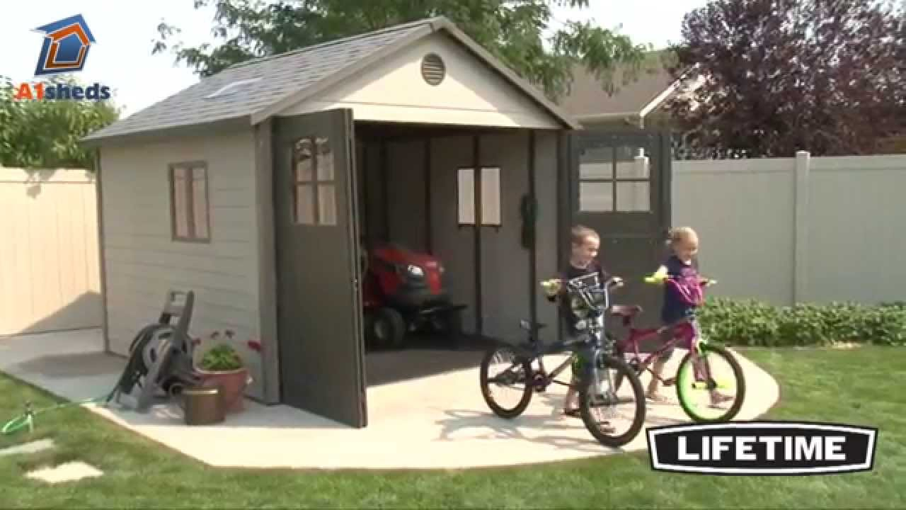Lifetime 11x11 Shed Youtube