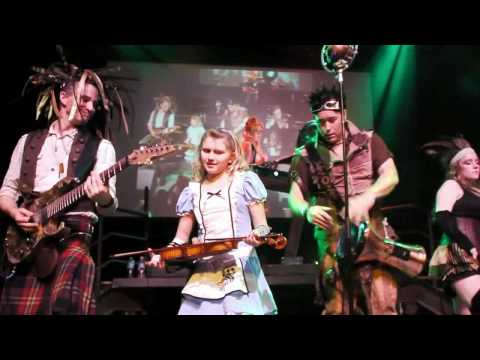 Abney Park (Steampunk), Airship Pirates, Live Concert, San Francisco, Burton's Wonderland Ball