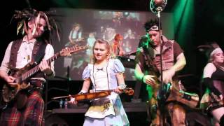 Abney Park (Steampunk), Airship Pirates, Live Concert, San Francisco, Burton