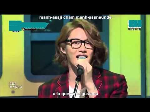 I Wish - M&D (Heechul & Jungmo)  Sub Español - Rom - Han [Live]