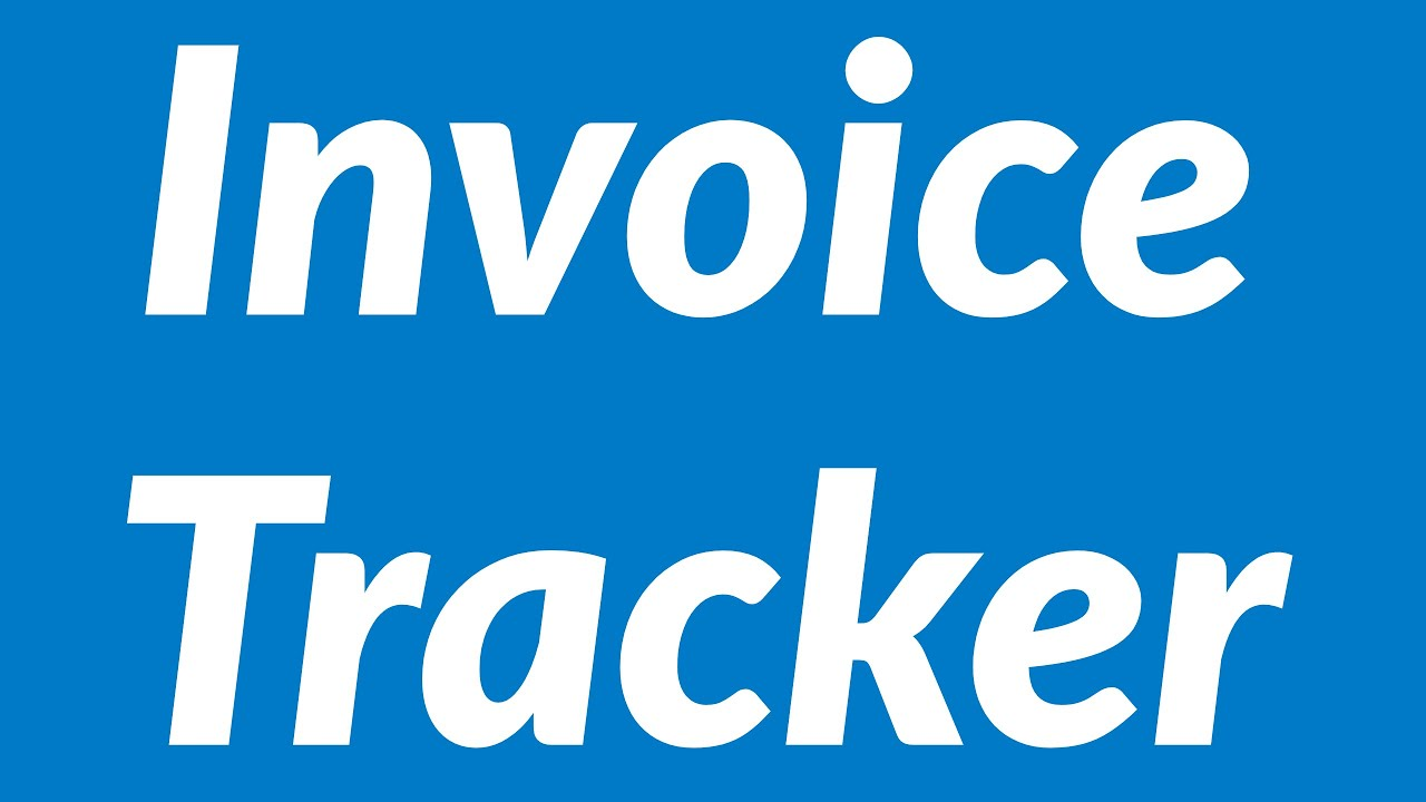 )(n.) (1) something that establishes or serves as a pattern for reference. Invoice Tracker Youtube