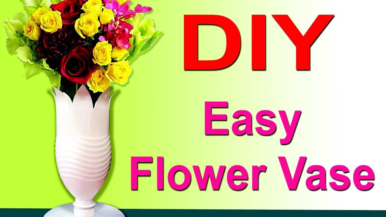 Diy easy plastic bottle flower vases to decorate your home youtube diy easy plastic bottle flower vases to decorate your home reviewsmspy