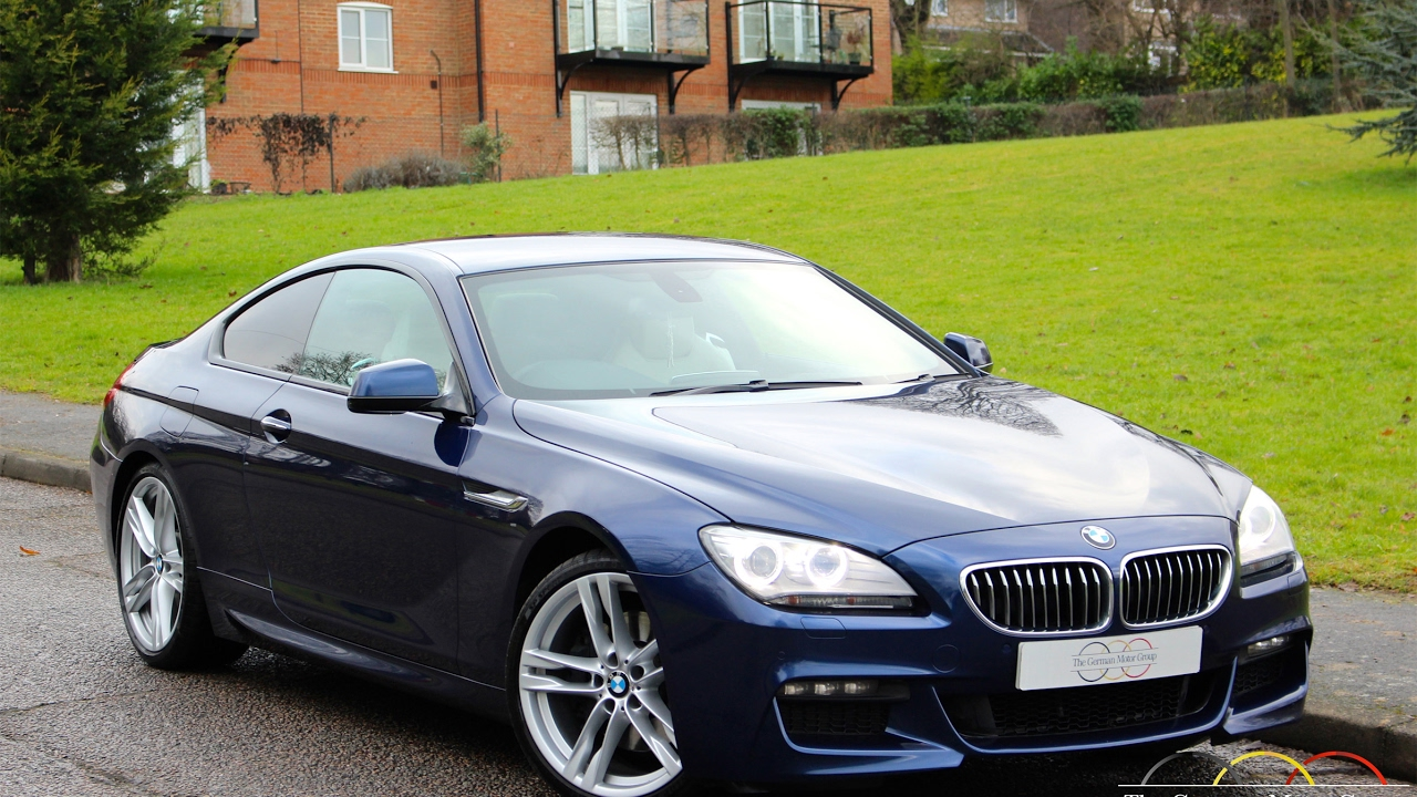 BMW 640D M Sport Coupe (2012/62) - YouTube