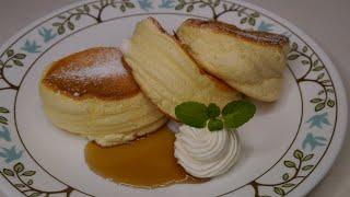 Rice Flour Souffle Pancake