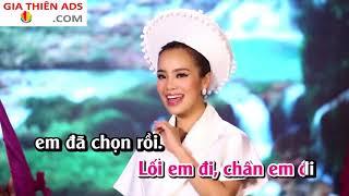Karaoke Em Chọn Lối Này - Sèn Hoàng Mỹ Lam