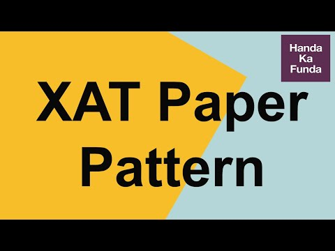 XAT Crash Course - Paper Pattern Of XAT 2020