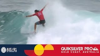 Smith vs. Pupo vs. Young - Quiksilver Pro Gold Coast 2017 Round One, Heat 5