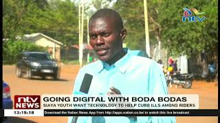 Youth group in Siaya uses technology to help curb boda boda accidents