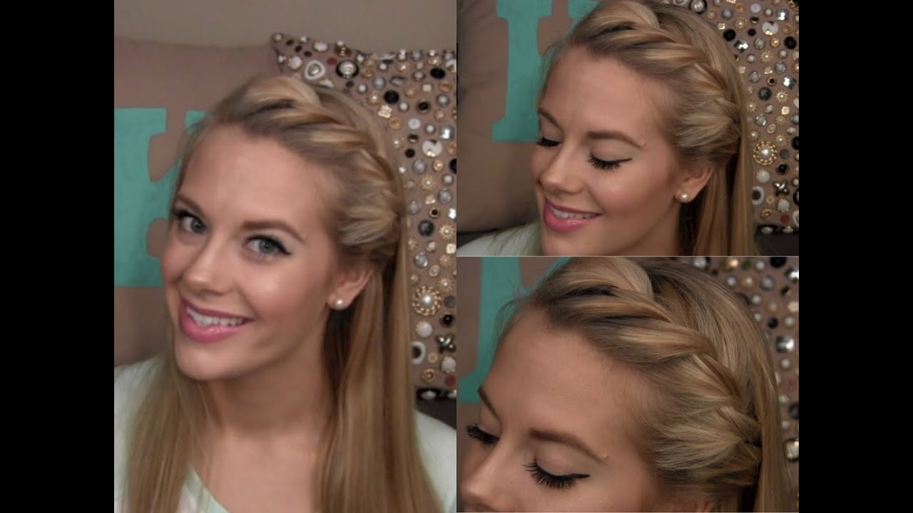 Hair Tutorial Side Twist YouTube