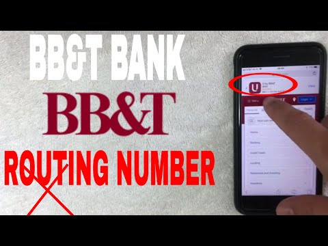 ✅  BB And T Bank ABA Routing Number - Where Is It? 🔴