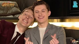 Download benedict cumberbatch babysitting tom holland for 15 minutes straight Mp3 and Videos