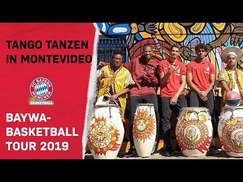 fc-bayern-basketball-dances-tango-|-alex-king,-diego-flaccadori-&-sasha-grant-in-montevideo