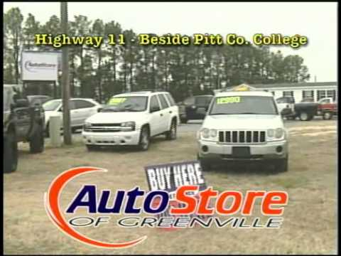 Auto Store Of Greenville >> Auto Store Of Greenville Nc And Dr Credit