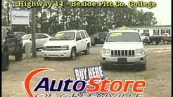 AUTO STORE OF GREENVILLE NC  AND DR CREDIT