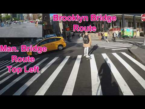Brooklyn Bridge or Manhattan Bridge: Which is better for cycling? Side by side comparison