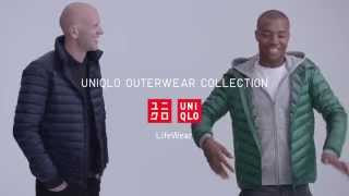 Louis McMiller for Uniqlo Outerwear showing off his impeccable cont...