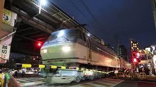 EF66-129@浄正橋踏切