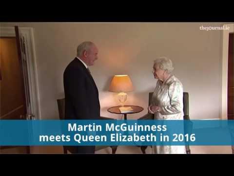 Martin McGuinness meets Queen Elizabeth (2016)