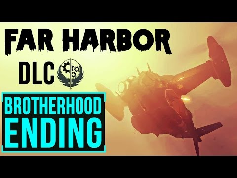 Fallout 4 Far Harbour: Leading Brotherhood of Steel to Kill Synths of Arcadia (Alternate Ending)