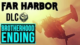 Fallout 4 Far Harbour: Leading Brotherhood of Steel to Kill Synths of Acadia (Alternate Ending)