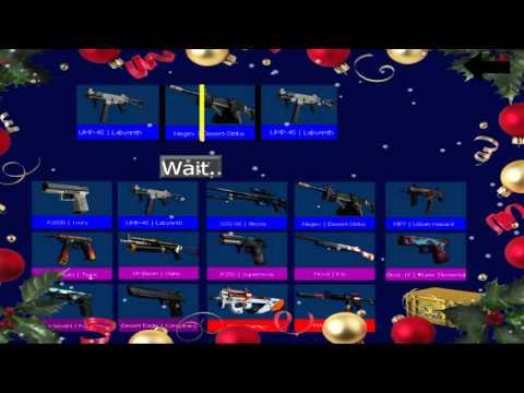 CS:GO Case simulator by Kovlag Winter Update
