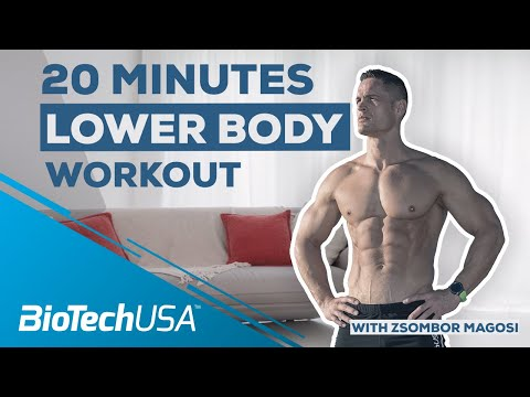 Best Exercises To Build Muscle – 20 Min Lower Body (NO GYM NEEDED)