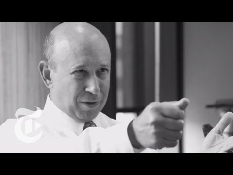 Corner Office: Lloyd Blankfein | The New York Times