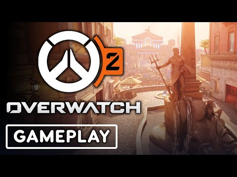 Overwatch 2 - First Rome Map PVP Gameplay
