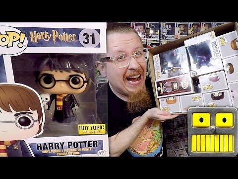 Mega Epic $1000 60 Harry Potter Funko Pop Vinyl Figure Collection Haul  Part 2