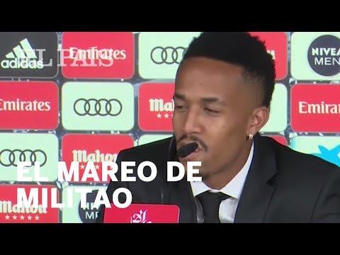 Militao acaba antes de lo previsto su presentación con el Real Madrid al sentirse mareado