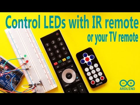 Arduino Controlled using TV or IR Remote - YouTube