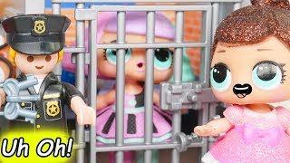 LOL Surprise Dolls Pranksta Riding new Car