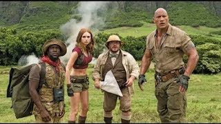 Jumanji  Welcome to the Jungle 2017   Motorcycle Assault Scene 2 10   Moviec HD 01