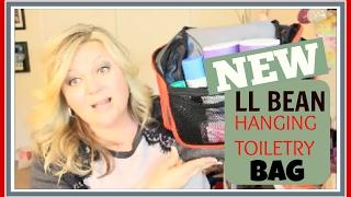 NEW LL Bean HangingToiletry/Travel Bag | February 2017