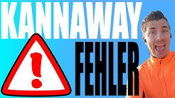 Kannaway Erfahrungen - 3 Fehler als Kannaway Vertriebspartner (Kritik)