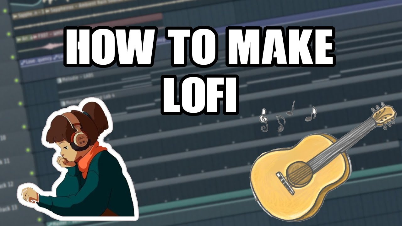 MAKING A INSANE/CHILL LOFI BEAT FROM A GUITAR