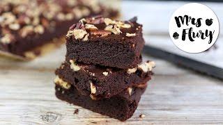 Gesunde Brownies Rezept ohne Zucker, glutenfrei | Gesund und lecker backen