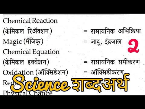 Science words meaning in Marathi | science dictionary | science words | #sciencewords.
