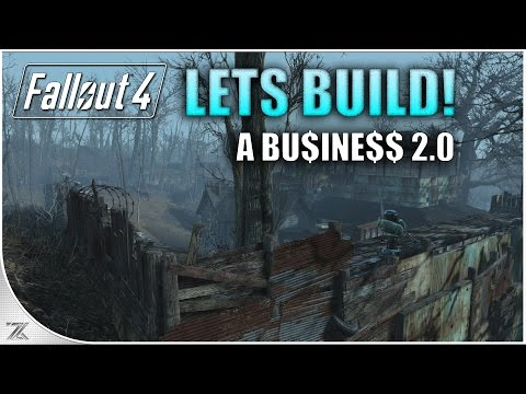 Fallout 4 Contraptions - Lets Build a Business 2.0 | Somervi