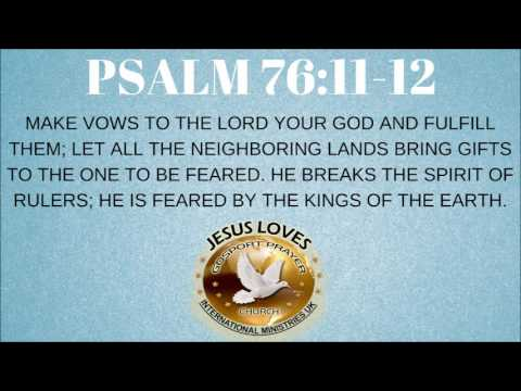 Image result for Psalm 76:11-12