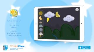 Weather, by My Little Place - iPad App for children - Game for Early Years and Primary School